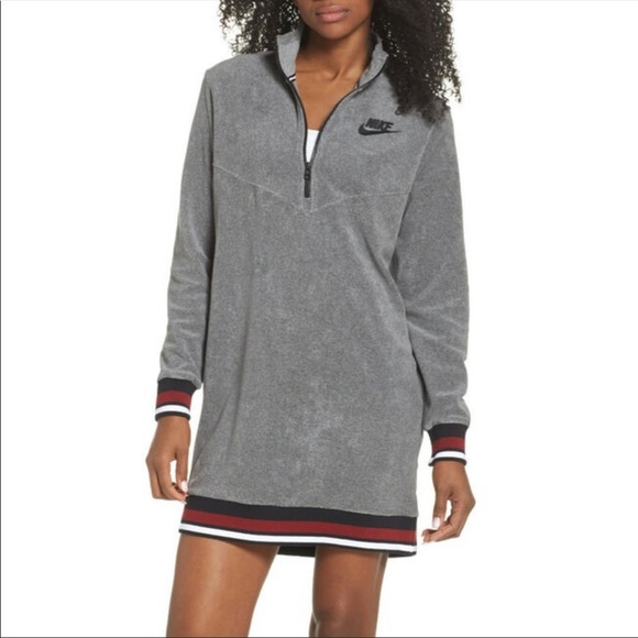 Nike Dresses & Skirts - NWT Nike grey French terry dress